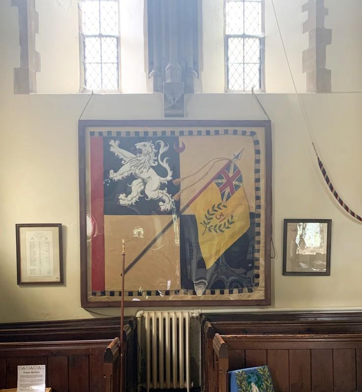 Newly-restored Byng banner returns (2)
