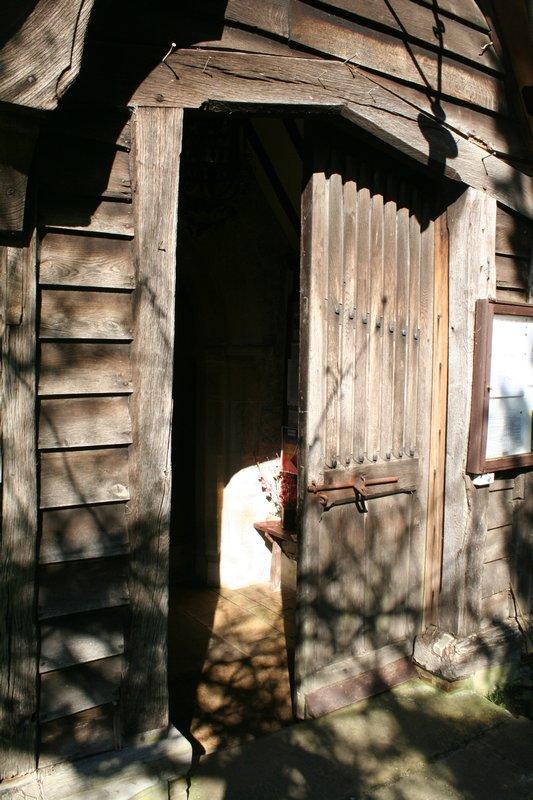 South Porch door